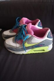 Nike Air Max trainers Size 5.5 UK