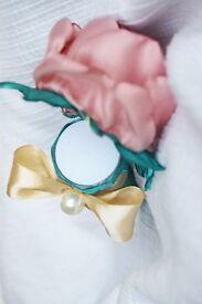 Ring Box hidden in Handmade Flower Bouquet - for Engagement / Celebration / Gift