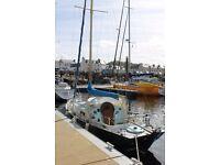 Contessa 26 yacht.