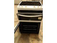 White New Zanussi Avanti A+ Class Electric Cooker with Ceramic Hob