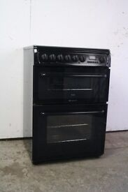 Hotpoint 60cm Ceramic Top Cooker Digital Display Good Condition 12 Month Warranty
