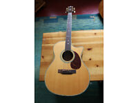 Crafter TC035 Electro-Acoustic Guitar. Plus Amp + Soft Case