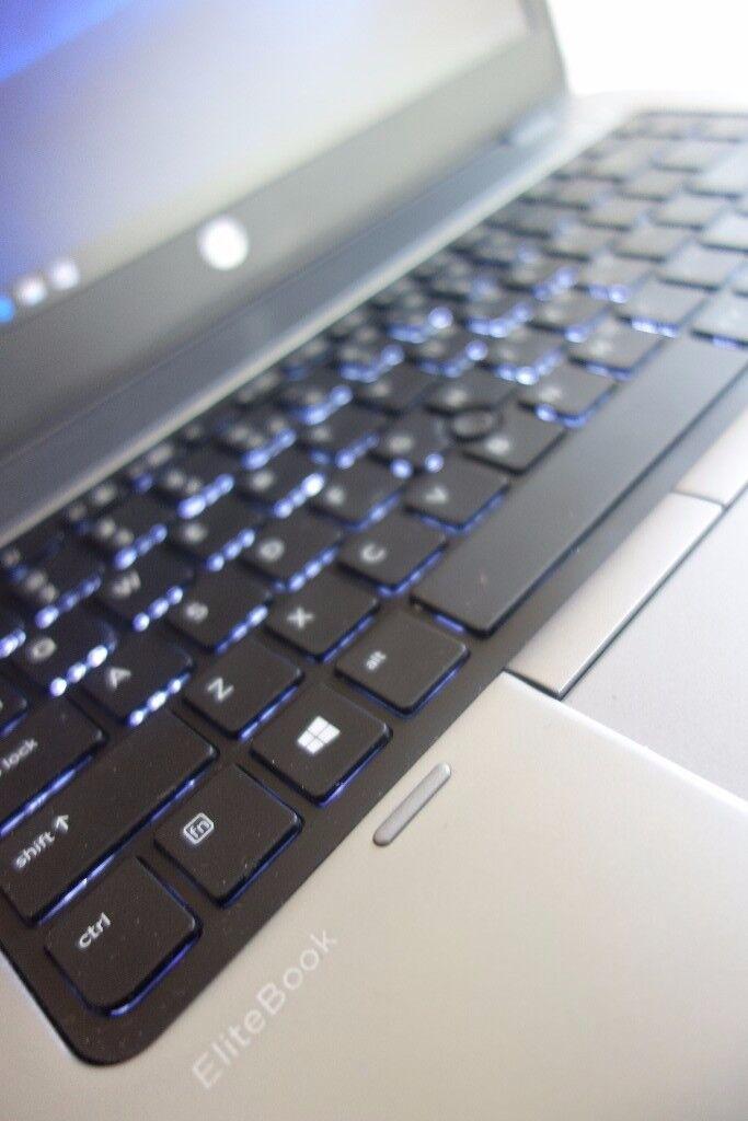 16GB RAM, HP EliteBook Laptop 840 14 Inches, 500GB HDD and SSD, Windows 10, Intel i5 2.9GHz