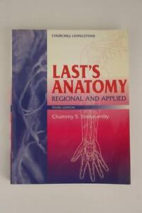 Last's Anatomy Textbook Wilberforce Hawkesbury Area Preview