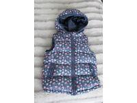 Baby Girl Clothes 9-12 Months Winter Jacket Coat bodywarmer Hooded Jilet
