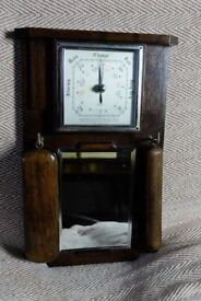 Art Deco Shortland Bowen Grooming Mirror and Barometer set