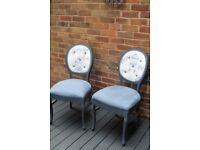 shabby chic french style occasional chairs