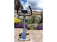 Exercise, spinning, stationary bike York Fitness