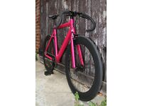 Special Offer Aluminium Alloy Frame Single speed road bike fixed gear racing fixie bicycle f3ed
