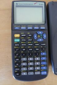 Texas Instruments TI-83 Graphic Scientific Calculator. In full working order.
