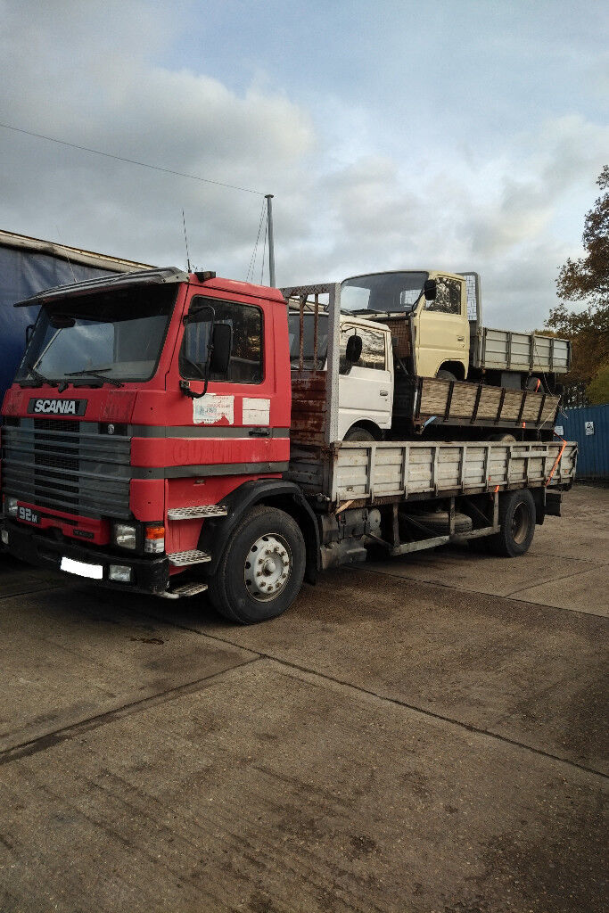 Left hand drive Scania 92M 250 HP Turbo Intercooler 19 ton truck.