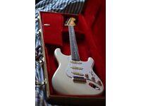 Fender Stratocaster Japanese 80s Olympic White