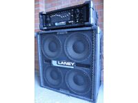 Bass guitar amp and speaker - 300w Laney DP300