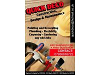 QUICKDECO HANDYMAN SERVICES. FREE QUOTATIONS