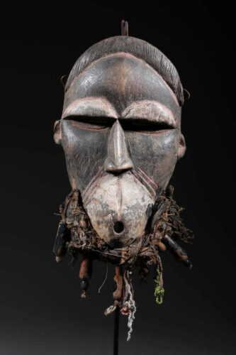 Art African Mask Koulango