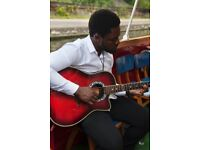 Neo-Soul - R&B - Afrobeat Acoustic Guitarist Available for Weddings, Events and Parties