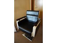 Superb Retro 1970's 1980's Barber's Chair FREE DELIVERY CENTRAL EDINBURGH