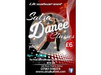 Wolverhampton Weekly Monday Nights Salsa Classes