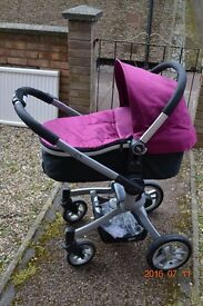 Graco pushchair travel system 3in1 purple need gone ASAP