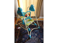 fantastic Fisher Price swing and rocker