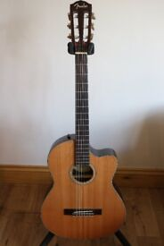Fender Electro Acoustic - Nylon Strings - unplayed with hard case