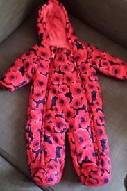 Winter clothes snowsuit jacket baby girl