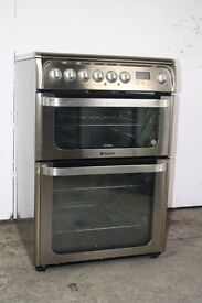 Hotpoint 60cm Ceramic Top Cooker Digital Display Excellent Condition 12 Month Warranty