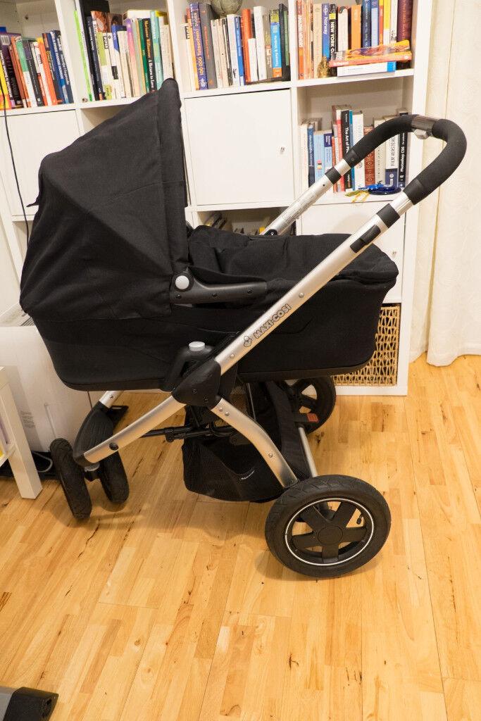 Maxi cosi mura pushchair pram plus baby cot