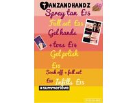 Tanzandhandz spray tanner+nail technician