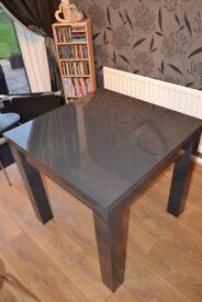 Next extending dining table (Grey Gloss)