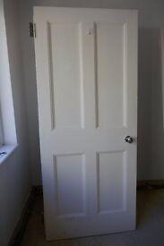 Doors. Internal x 11. Painted wood. Various designs.