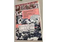 POSTERS-SOCIAL HISTORY -GENUINE 1980'S-SECONDARY SCHOOL HUMANITIES £5 each