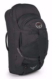 Osprey Farpoint 55 Backpack in Grey