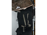 Maclaren XLR buggy with compatible Recaro car seat plus next stage car seat