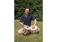 Learn indian Tabla , persian tombak . bournemouth area.