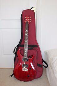 PRS SE Standard 24 Vintage Cherry - Electric Guitar with Gig Bag