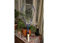 Dunlop Aero Ti Blue High Performance Squash Racket