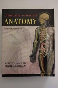 Clinically Oriented Anatomy Textbook Wilberforce Hawkesbury Area Preview