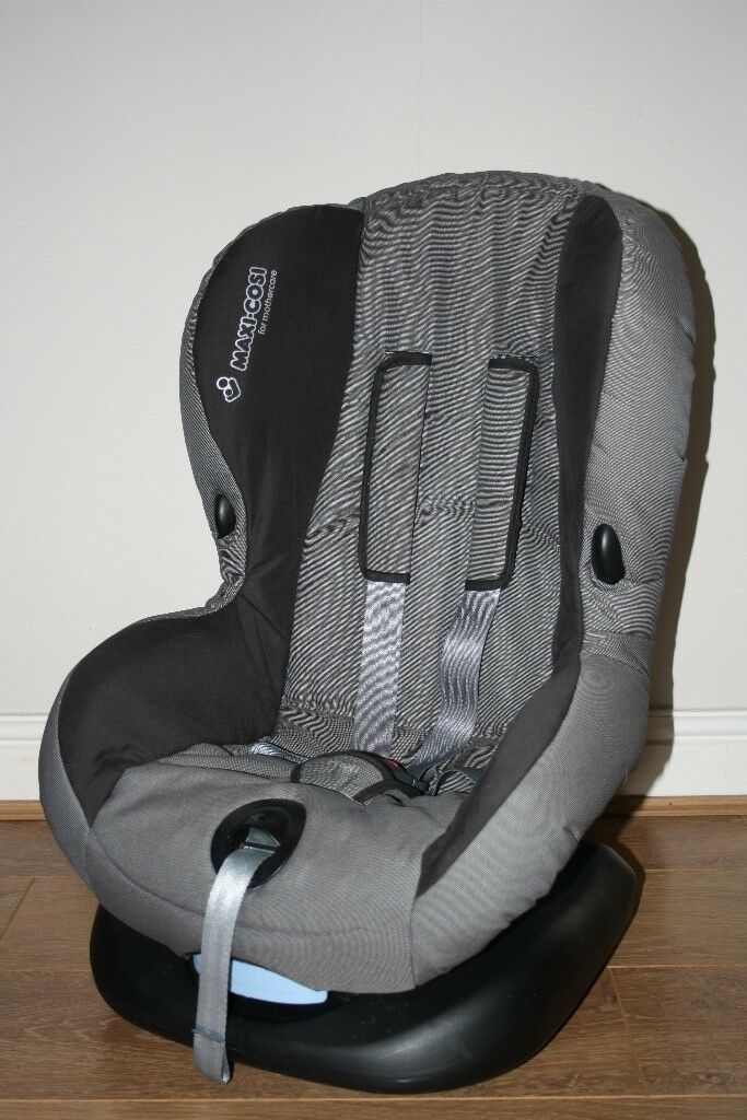 maxi cosi priori sps 9 18kg baby car seat in black and. Black Bedroom Furniture Sets. Home Design Ideas