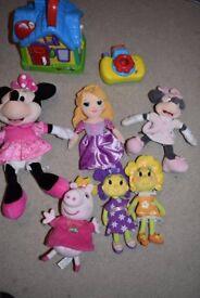 Various toys - Disney / Peppa / Leapfrog