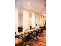 hairdressing chair for rent in beautiful salon in Marlybone