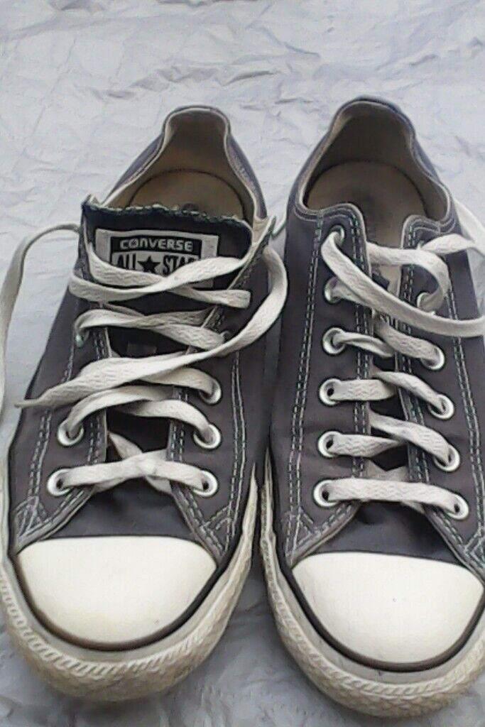 faf4f8ab7c Converse all stars grey size 8 | in Brighton, East Sussex | Gumtree