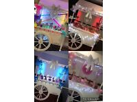 Cart, LOVE letters, Chair Covers, Magic Mirror - Prices Start £70!!
