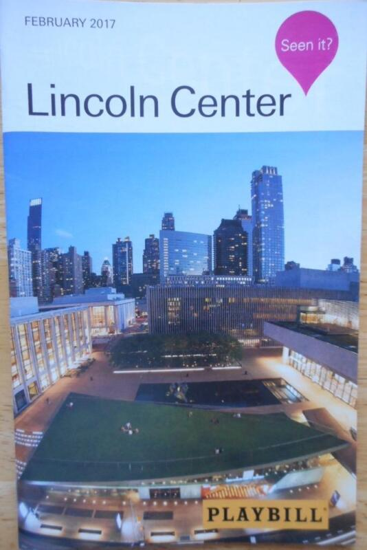 Crazy for You Playbill Lincoln Center Laura Osnes Tony Yazbeck Rachel Bloom 2017