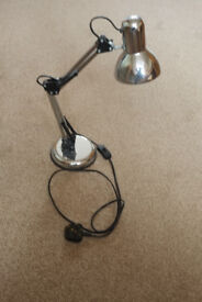 Reading Lamp – Stainless Steel