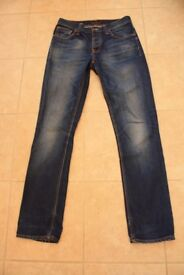 Mens Nudie jeans in great ,hardly worn condition.Size 32/34