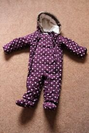 Baby Girl's Snowsuit from Marks and Spencers – Size 12 – 18 Months