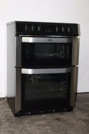 Belling 60cm Ceramic Top Cooker/Oven Digital Display Good Condition 12 Month Warranty