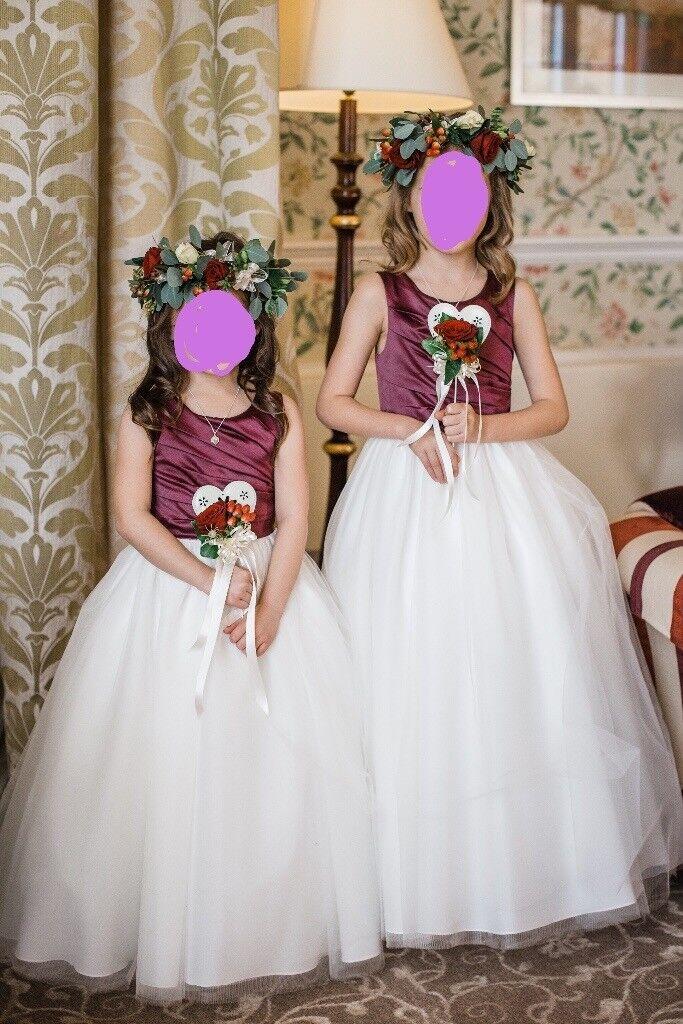 Wedding Flower Bridesmaid Dresses By Designer Amanda Wyatt