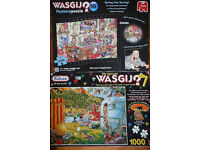 JIGSAW PUZZLE SELECTION, CAN GO ALL TOGETHER OR SEPARATELY